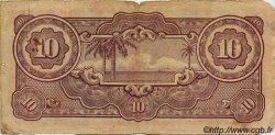 10 Gulden INDES NEERLANDAISES  1942 P.125c B