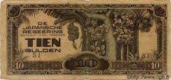 10 Gulden INDES NEERLANDAISES  1942 P.125c pr.TB