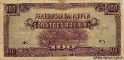 100 Roepiah INDES NEERLANDAISES  1944 P.126b TB+ à TTB