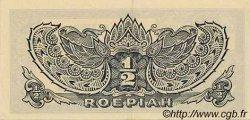 1/2 Roepiah INDES NEERLANDAISES  1944 P.128a SPL