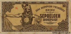 10 Roepiah INDES NEERLANDAISES  1944 P.131a TB