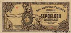 10 Roepiah INDES NEERLANDAISES  1944 P.131a pr.TTB