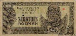 100 Roepiah INDES NEERLANDAISES  1944 P.132a B+
