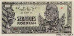 100 Roepiah INDES NEERLANDAISES  1944 P.132a SPL