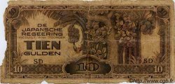 10 Gulden INDES NEERLANDAISES  1944 PS.513 AB