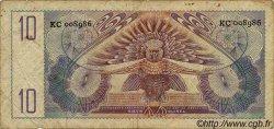 10 Gulden NOUVELLE GUINEE NEERLANDAISE  1954 P.14a TB