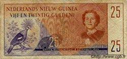 25 Gulden NOUVELLE GUINEE NEERLANDAISE  1954 P.15a TB