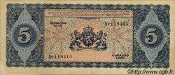 5 Gulden CURACAO  1939 P.22 TB+ à TTB