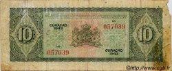 10 Gulden CURACAO  1943 P.26 B