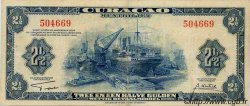 2,5 Gulden CURACAO  1942 P.36 TB+ à TTB