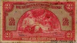 2,5 Gulden SURINAM  1942 P.087b TB