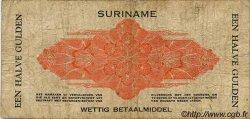 50 Cent SURINAM  1940 P.104a B+