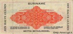 50 Cent SURINAM  1942 P.017c TTB+