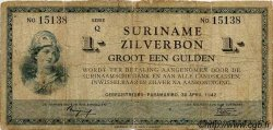 1 Gulden SURINAM  1942 P.105c B+