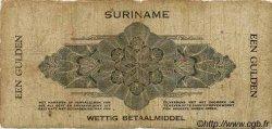 1 Gulden SURINAM  1942 P.018c B+