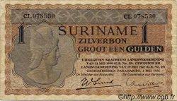 1 Gulden SURINAM  1956 P.108b TB+