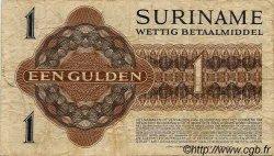 1 Gulden SURINAM  1956 P.020b