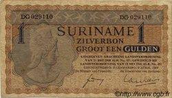 1 Gulden SURINAM  1960 P.020b TB+