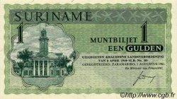 1 Gulden SURINAM  1961 P.023a NEUF