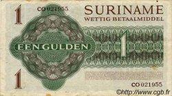 1 Gulden SURINAM  1967 P.023a TTB