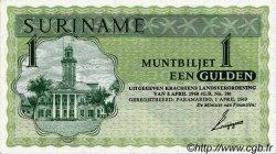 1 Gulden SURINAM  1969 P.023a SPL