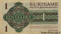 1 Gulden SURINAM  1971 P.023b TTB