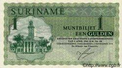 1 Gulden SURINAM  1974 P.023d NEUF