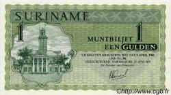 1 Gulden SURINAM  1979 P.023e pr.NEUF