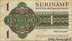 1 Gulden SURINAM  1982 P.023f TB