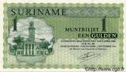 1 Gulden SURINAM  1982 P.023f NEUF