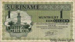 1 Gulden SURINAM  1986 P.023i TB