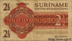 2,5 Gulden SURINAM  1961 P.024a pr.TB