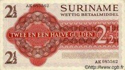 2,5 Gulden SURINAM  1961 P.024a NEUF