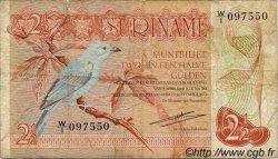 2,5 Gulden SURINAM  1973 P.024Aa TB