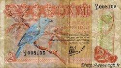 2,5 Gulden SURINAM  1978 P.118Ab TB+