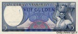 5 Gulden SURINAM  1963 P.030b SPL