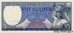 5 Gulden SURINAM  1963 P.030b NEUF