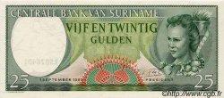 25 Gulden SURINAM  1963 P.122 pr.NEUF