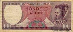 100 Gulden SURINAM  1963 P.033 pr.TTB