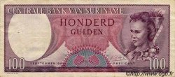 100 Gulden SURINAM  1963 P.033 TTB+