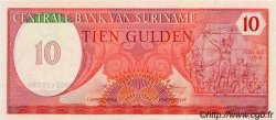 10 Gulden SURINAM  1982 P.036 NEUF
