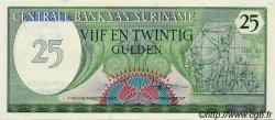 25 Gulden SURINAM  1985 P.037b NEUF