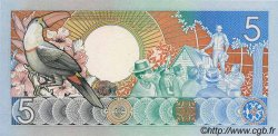 5 Gulden SURINAM  1986 P.040a NEUF