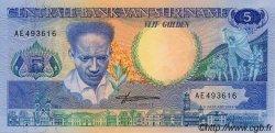 5 Gulden SURINAM  1988 P.130b NEUF