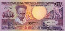 100 Gulden SURINAM  1988 P.043b NEUF