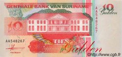 10 Gulden SURINAM  1991 P.047a NEUF