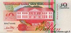 10 Gulden SURINAM  1996 P.047b NEUF