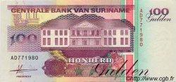 100 Gulden SURINAM  1991 P.139 SPL