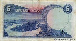 5 Shillings OUGANDA  1966 P.01a TTB