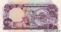 20 Shillings OUGANDA  1966 P.03a NEUF